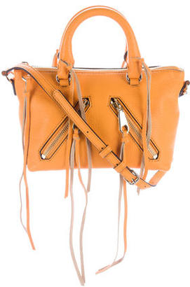 Rebecca Minkoff Mini Leather Satchel $125 thestylecure.com