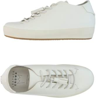 Leather Crown Low-tops & sneakers - Item 11309513AO