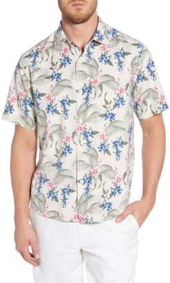 Tommy Bahama Basilica Blooms Classic Fit Print Shirt