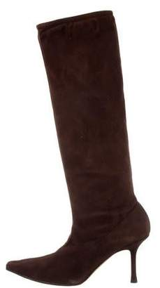 Jimmy Choo Suede Knee-High Boots