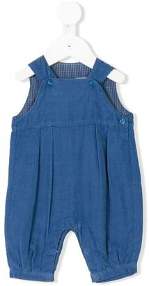 Knot corduroy dungarees