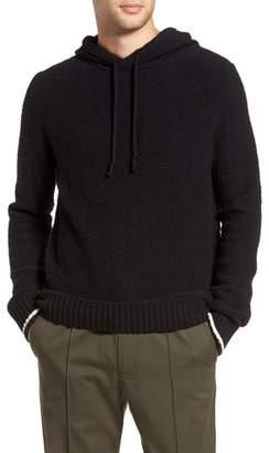 Vince Wool Fleece Pullover Hoodie