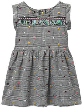 Pippa Pastourelle by and Julie Plaid Double Knit Dress (Toddler & Little Girls)