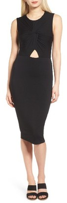 Women's Bailey 44 Twist Front Midi Dress $178 thestylecure.com