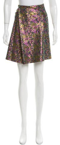 3.1 Phillip Lim 3.1 Phillip Lim Brocade Metallic Mini Skirt w/ Tags
