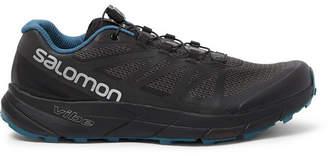 Salomon Sense Ride Nocturne Mesh And Rubber Running Sneakers