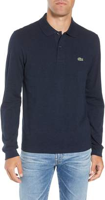 Lacoste Long Sleeve Pique Polo