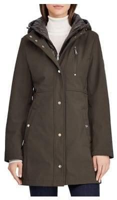 Lauren Ralph Lauren THE COAT EDIT Quilted Hooded Jacket