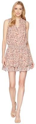 Lucky Brand Printed Drop Waist Dress Women's Dress