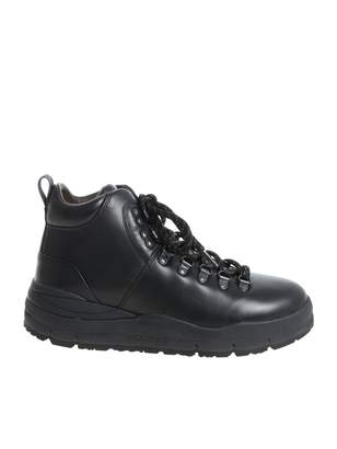 Woolrich Boots Leather Hiker