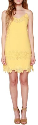 Women's Willow & Clay Lace Trim Slipdress $89 thestylecure.com