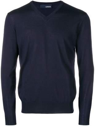 Lardini V-neck jumper