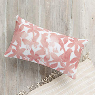 Spring Bloom. Lumbar Pillow