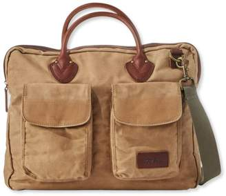 Heritage Waxed-Canvas Briefcase