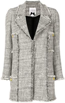 Edward Achour Paris fringed jacket
