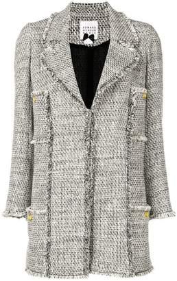 Edward Achour Paris fringed jacket