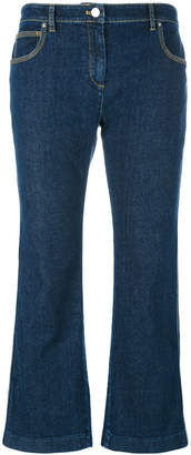 Kenzo cropped flare jeans