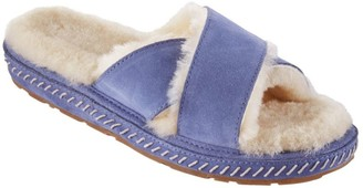 L.L. Bean L.L.Bean Wicked Good Slipper Slide Cross Band Women's