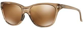 Oakley Women's Hold Out Polarized Iridium Cateye Sunglasses