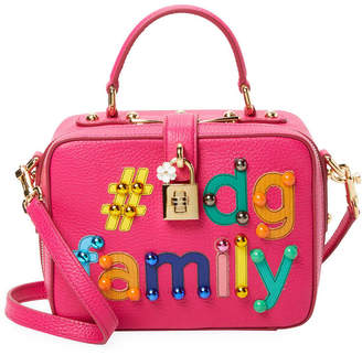 Dolce & Gabbana #Dg Family Dolce Box Bag Leather Crossbody