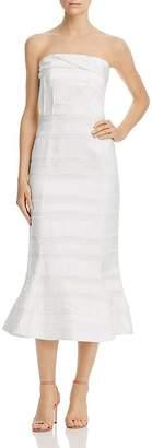 C/Meo Collective Solitude Strapless Midi Dress
