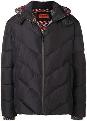Missoni hooded down jacket