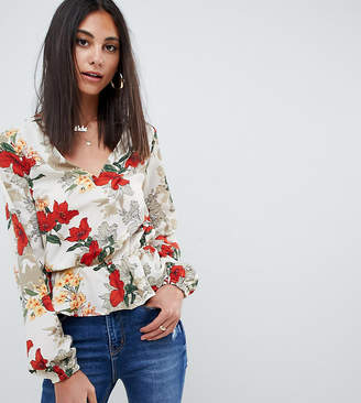 Missguided Tall Floral Blouse