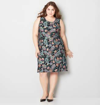 Avenue Paisley Sheath Dress