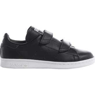 adidas Black Leather Trainers