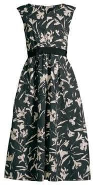 Max Mara Pamir Sleeveless Floral Dress