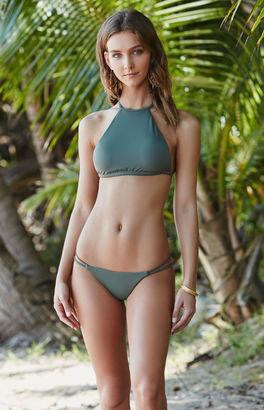 LA Hearts Strappy Back High Neck Bikini Top $26.95 thestylecure.com