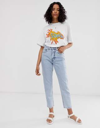 Cheap Monday recycled Donna rigid mom jeans