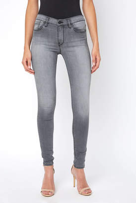 Astr Hudson Nico Trooper Grey Skinny Jean