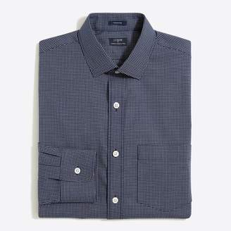 J.Crew Factory Tattersall flex wrinkle-free dress shirt