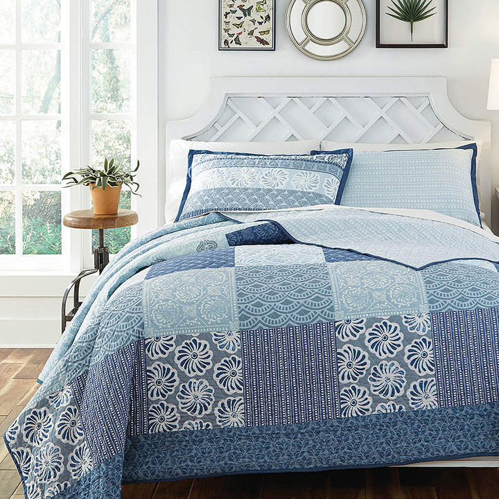 KD SPAIN KD Spain Horizon Reversible Quilt Set