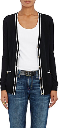 Barneys New York BARNEYS NEW YORK WOMEN'S TIPPED CASHMERE CARDIGAN $595 thestylecure.com