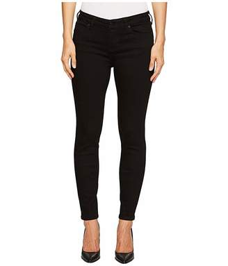 Liverpool Petite Abby Skinny Perfect Black Jeans in Black Rinse
