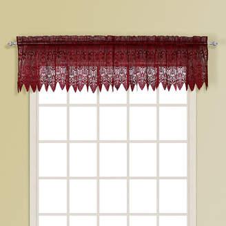 Co UNITED CURTAIN United Curtain Valerie Rod-Pocket Valance