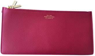 Smythson Other Leather Clutch Bag