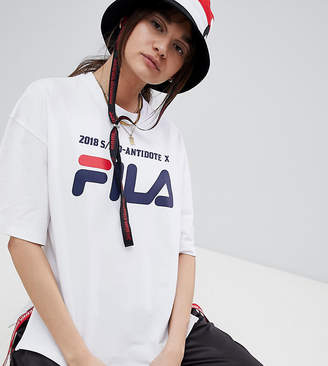 Fila D-Antidote X T-Shirt With Taping