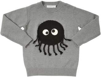 Stella McCartney Terrycloth Monster Cotton & Wool Sweater