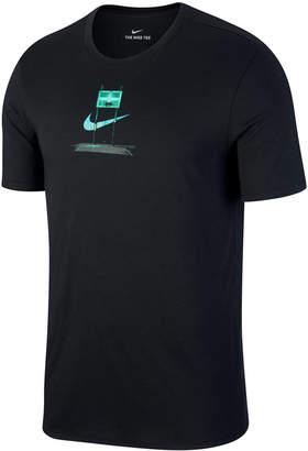 Nike Men's Dry Fabric Pickup Court Graphic T-Shirt