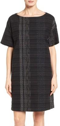 Women's Eileen Fisher Koshi Organic Cotton Shift Dress $328 thestylecure.com