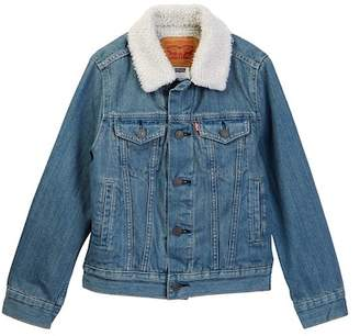 Levi's LVB Faux Shearling Lined Jacket (Big Boys)