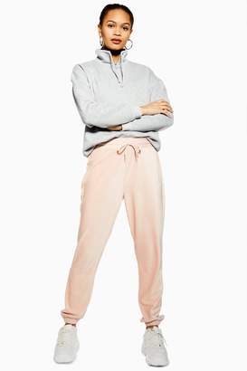 Topshop Womens Corduroy Slim Joggers - Pale Pink