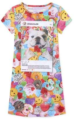 Children's Place The Girl's Dog Sweets Short Sleeve Nightgown (Big Girl & Little Girl)