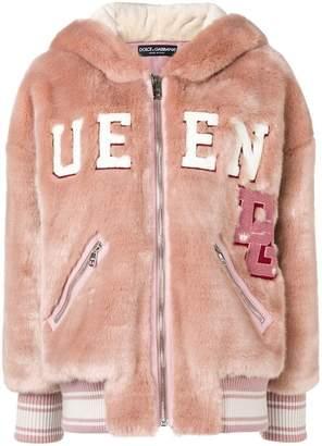 Dolce & Gabbana Queen zip hoodie
