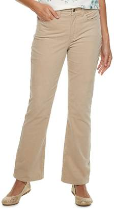 Croft & Barrow Women's Classic Corduroy Bootcut Pants