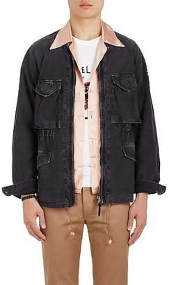 Visvim Men's Garment-Washed Cotton Canvas Field Jacket
