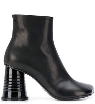 MM6 MAISON MARGIELA wide heel boots